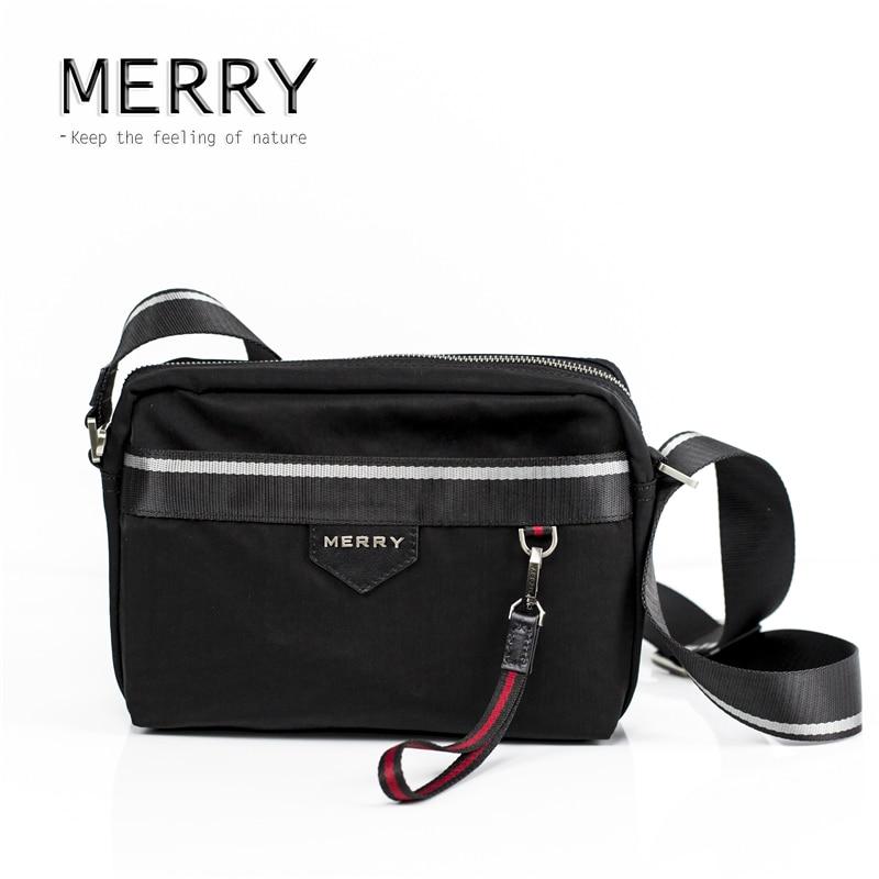 Aliexpress.com : Buy MERRY Fashion Bag Male Black High Quality ...