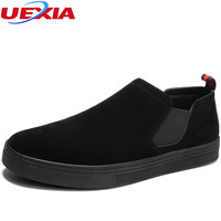 UEXIA 2018 New Arrival Outdoor High Quality Men Flats Shoes Breathable Fashion Men Casual Breathable Driving