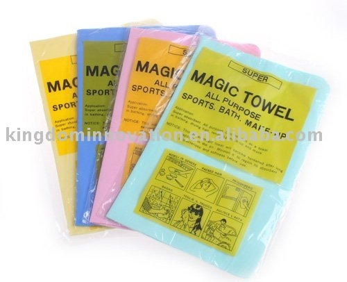 Free shipping-12pcs/lot,Magic towel used for cleaning the car, household wipes, wipe computer,bath of dry hair, pet bathing