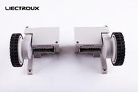 (Para A325  A320  A335  A336  A337  A338) Robot Vacuum Cleaner Rodas  Incluindo Montagem Da Roda esquerda x 1 pc + Conjunto Da Roda Direita x 1 pc