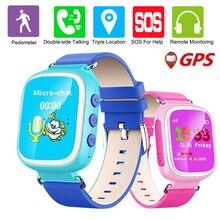 GPS Монитор Локатора Q80 Дети 2 Г Smart Watch Наручные Часы SOS Call Location Finder Tracker Устройств Сейф Анти Потерянный Монитор Младенца подарок