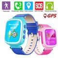 Gps monitor de localizador q80 niños 2g smart watch reloj sos llame Localizador Tracker Dispositivo Seguro Contra la Pérdida de Monitor de Bebé regalo