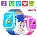 Monitor de gps localizador q80 crianças 2g smart watch relógio de pulso sos chamar Localizador Rastreador Dispositivo Seguro Anti Perdido Monitor Do Bebê presente
