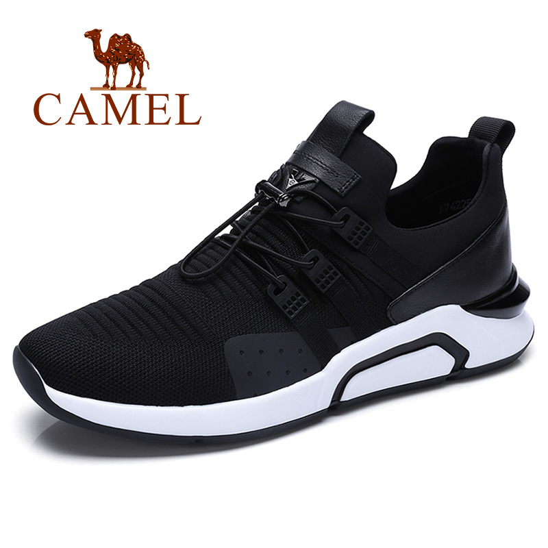CAMEL Black Running Shoes Breathable Outdoors Shoes Waterproof For Running Comfortable Sneakers Men Breathable Sport Shoes camel shoes 2016 women outdoor running shoes new design sport shoes a61397620