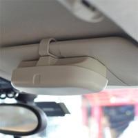 Car Styling Sunglasses Holder Storage Box For Toyota Corolla Camry Avensis Yaris Land RAV4 Prius Auris