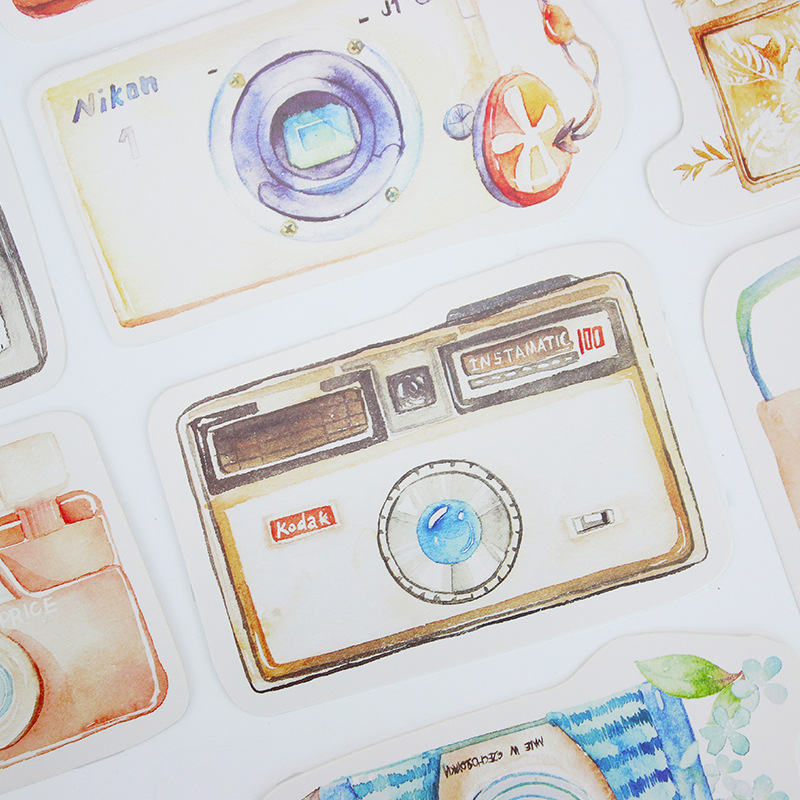 30pcs love camera look here style card multi-use as Scrapbooking party invitation DIY Decoration gift card message card postcard