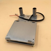 Blurolls Ultimaker 2 Go 3d Printer DIY Aluminum Alloy Build Platform Kit Print Table Base Plate