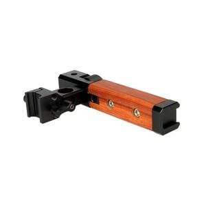 "Image 3 - NICEYRIG 2 PC กล้อง Handle Grip กล้องจับไม้จับชีส NATO 15mm Rod CLAMP เย็นรองเท้า 1/4 ""3/8"" สกรู"