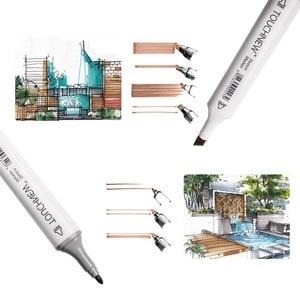 Image 3 - TOUCHNEW 30 40 kolorowy długopis profesjonalny najwyższej jakości artysta dwustronny permanentny pióro artystyczne komiks do rysowania artystycznego