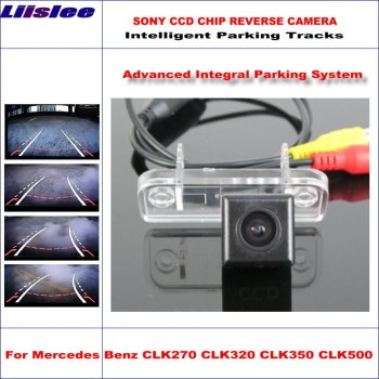 Liislee Intelligentized Reversing Camera For Mercedes Benz CLK270 CLK320 CLK350 CLK500 Rear View / Dynamic Guidance Tracks