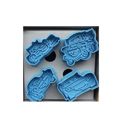 cars fondant cutter cookie mold three-dimensional 3d biscuit styling tools bakeware - YO store