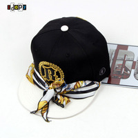 New Womens Adult Hip Hop Baseball Hat Kerchief Embroidery Scarves Sun Caps Street Dance Cap Stage Performance Hats For Hipster