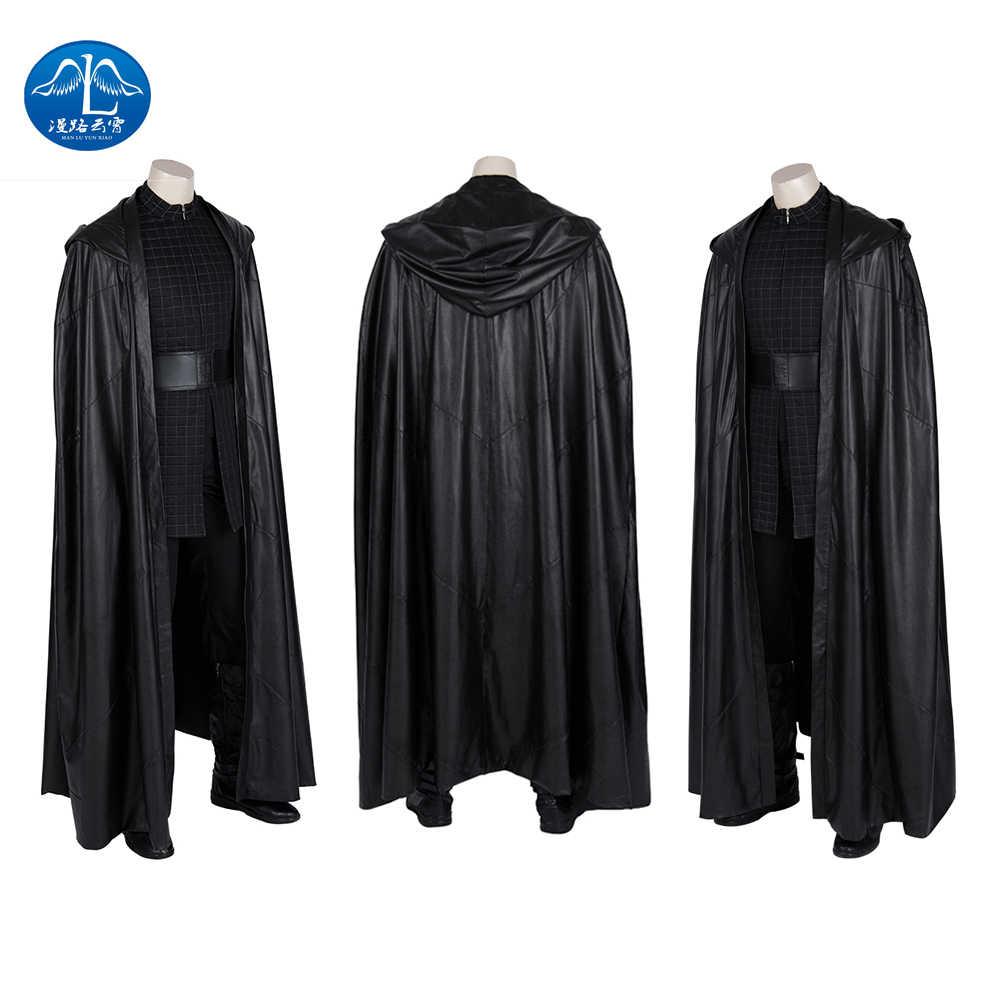 Manluyunxiao Star Wars 9 The Rise Of Skywalker Kylo Ren Cosplay Costume Adult Men Movie Superhero Halloween Fullset Custome Made Aliexpress