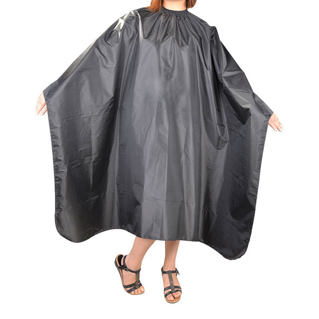 Professional Polyester Hairdressing Gown Salon Hair Cutting Cape ...