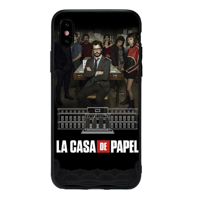 La Casa De Papel Money Heist Phone Case Cover Shell For iPhone 11Pro 5S SE 6 6S Plus 7 8 8Plus XS MAX XR Soft Silicone Phone Bag