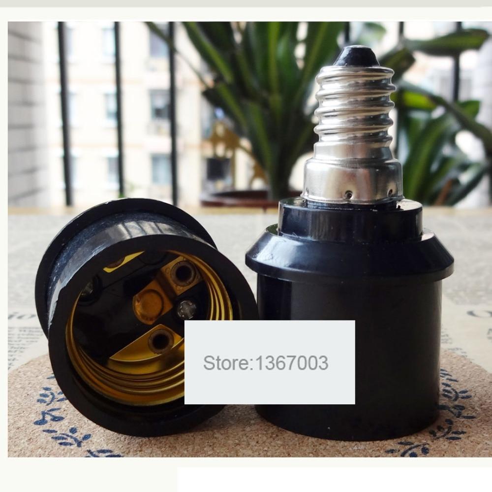 2PCS E14 To E27 Lamp Holder Converter Light Holder Converter Socket Light Bulb Holder Light Lamp Bulb Adapter Converter