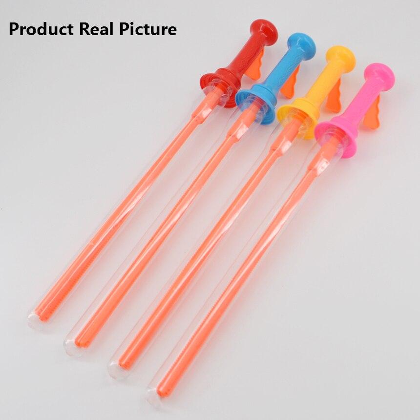 46CM Large Bubble Western Sword Shape Bubble Sticks Kids Soap Bubble Toy Outdoor