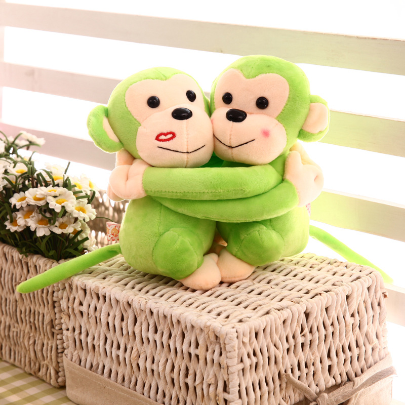 Hugging_Monkey_Toy_Green