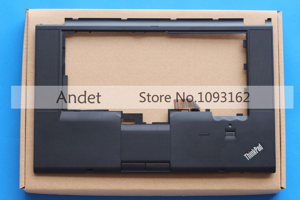 New Original Lenovo ThinkPad T510 T510I W510 Palmrest Keyboard Bezel Cover with Touchpad 60Y5504 75Y4564 new keyboard for lenovo thinkpad t410 t420 x220 w510 w520 t510 t520 t400s x220t x220i qwerty latin spanish espanol hispanic