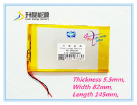 Free Shipping 3 7 V 10000 Mah Tablet Battery Brand Tablet Gm Lithium Polymer Battery 5582145