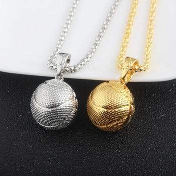 2Style Oval Basketball Necklace 1
