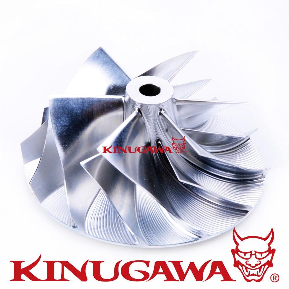 Kinugawa roue de compresseur Turbo 38.62/52.19mm pour Garrett GT15-25 52204 pour AudiKinugawa roue de compresseur Turbo 38.62/52.19mm pour Garrett GT15-25 52204 pour Audi