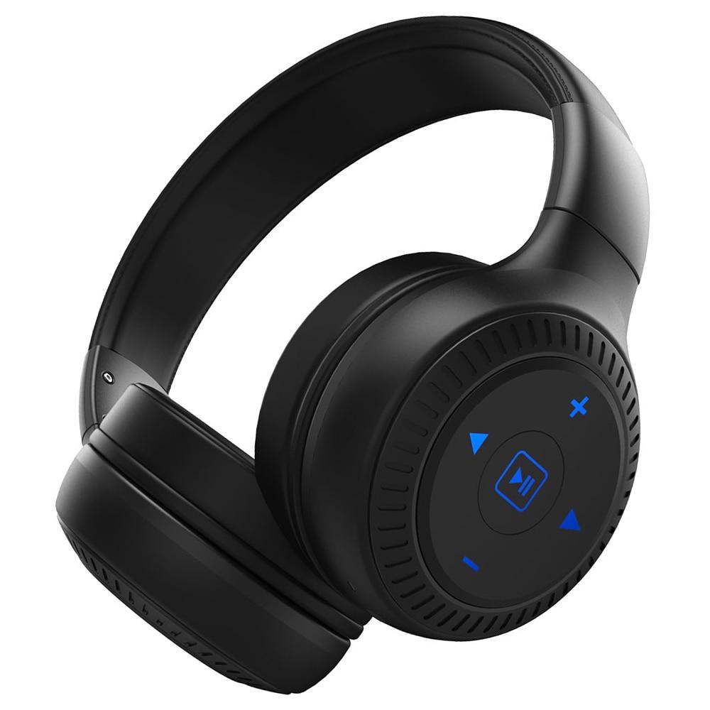 Casque sans fil stéréo stéréo de casque de Bluetooth de zèle B20 Super basse sur l'oreille mains libres avec le Microphone