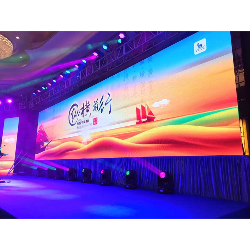 RGB Led Display P4mm 512x512mm Die Casting Aluminum Cabinet Indoor SMD2121 Full Color Led Screen For Rental