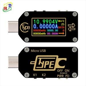 Image 3 - RD TC66/TC66C  Type C PD trigger  USB C Voltmeter ammeter voltage 2 way current meter multimeter PD charger battery USB Tester