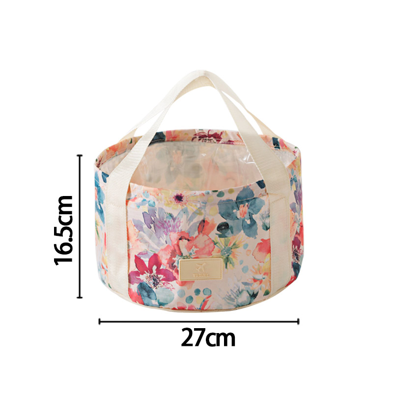 Folding Waterproof Travel Bags Portable Outdoors Wash Case Thicker Box Cleaning Bucket Pouch Accessories Supplies Products