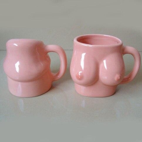 Hyperbolic Sexy Porcelain <font><b>Couple</b></font> <font><b>Cups</b></font> Creative <font><b>Milk</b></font> <font><b>Coffee</b></font> <font><b>Cup</b></font> Mug Wedding Gift 2pcs/<font><b>set</b></font> SH222