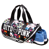 Hot Training Female Yoga Duffel BagWomen Gym Bag Fitness Shoulder Travel Bags Outdoor Separate Space For