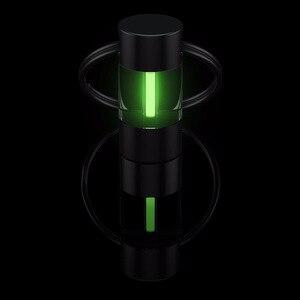 Image 2 - Tritium Lamp Keychain Key Ring Survival Tool Luminous Tritium Gas Lamp Lifesaving Emergency Lights Automatic Light