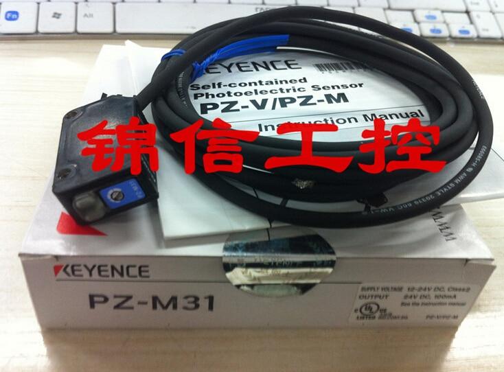 PZ-M31 KEYENCE  photoelectric sensor with reflectors keyence keyence photoelectric switch pz g61p