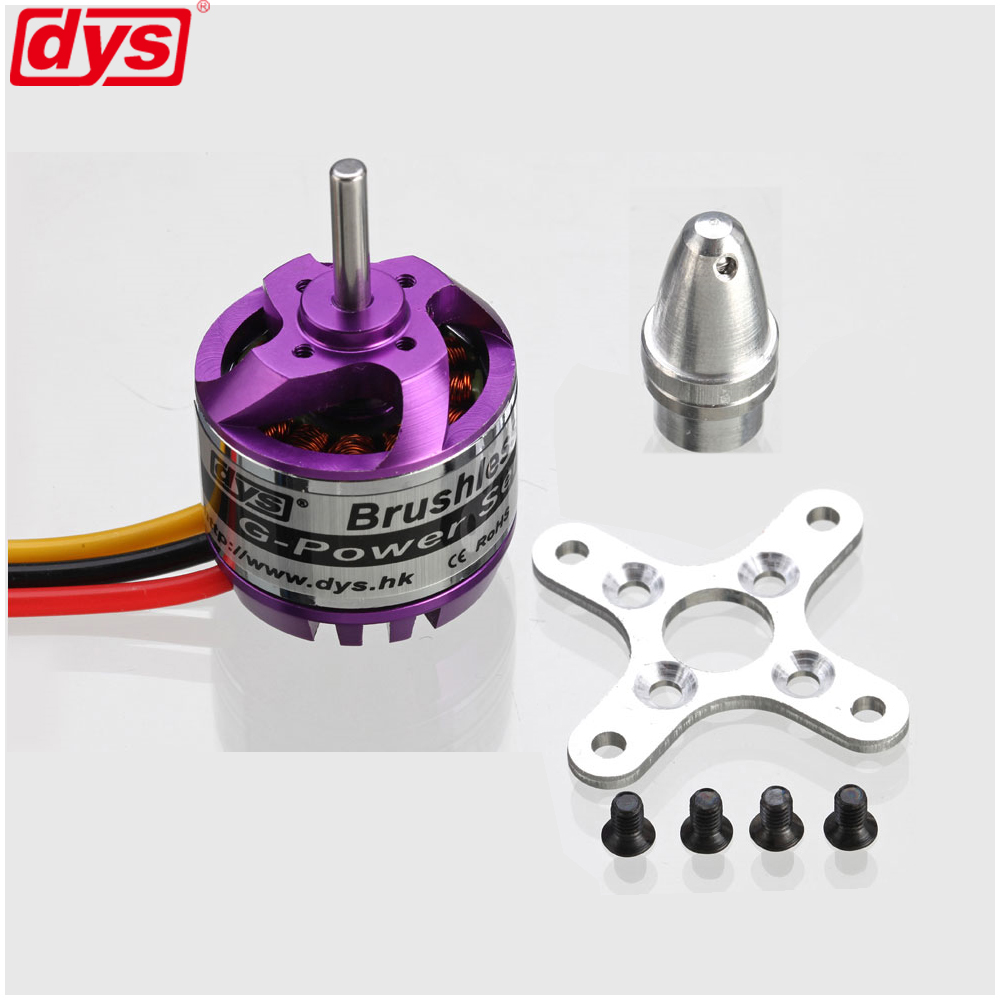 DYS D2830 2830 750KV 850KV 1000KV 1300KV de Motor sin escobillas para Rc de Multicopter