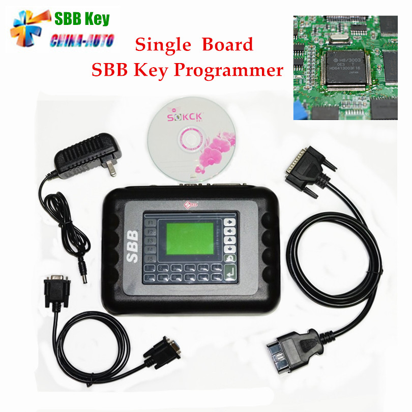 2017 High Quality Free ship Silca SBB V33.02 Key programmer Wholesale Price multi langauge sbb Key Programmer V33.02 silca sbb hot sale ak500 key programmer with eis skc calculator ak500 key programmer with high quality dhl free