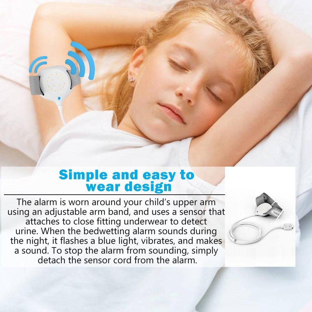 Security Enuresis Bedwetting Urine Sensor Alarm Arm Wearing Sleeping