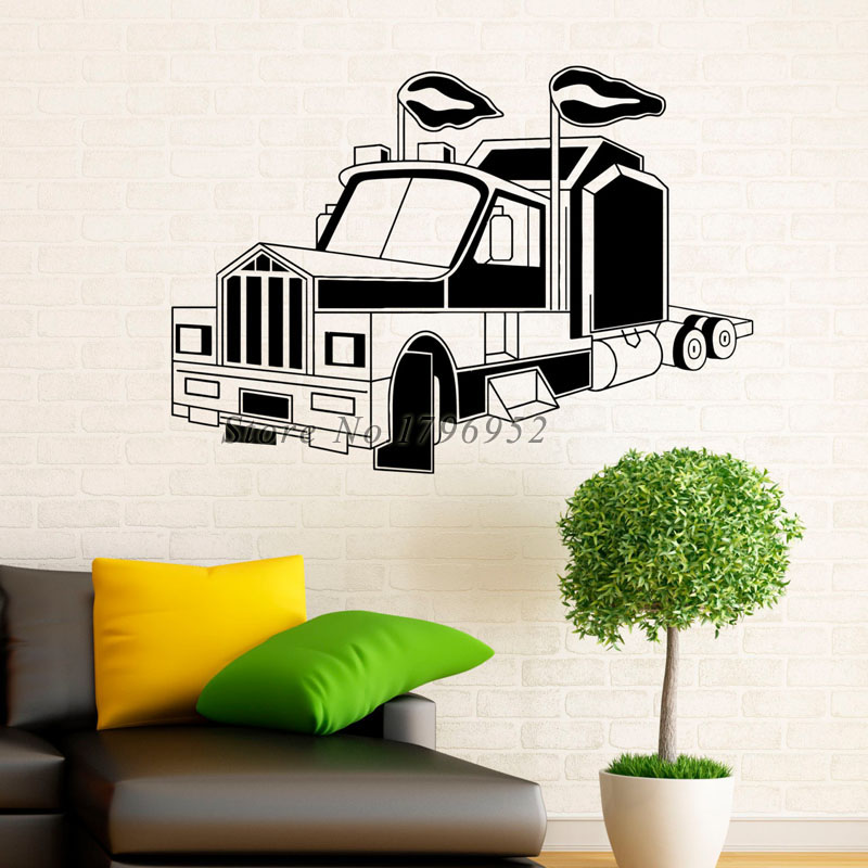 wall decal interior design