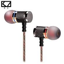 KZ-ED2 In-Ear Наушники энтузиаст бас уха Гарнитура ковки медных 7 ММ шокирующие анти-шум микрофон качество звука