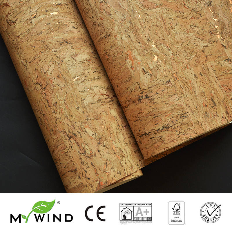 2019 MY WIND Wooden Luxury Decoration 100% Natural Material Safety Innocuity 3D Wallpaper In Roll Decor European Aristocracy
