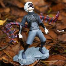 ALEN NEW hot 15cm Tokyo Ghoul Kaneki Ken generation of dark Jin Muyan action figure toys collection Christmas gift doll