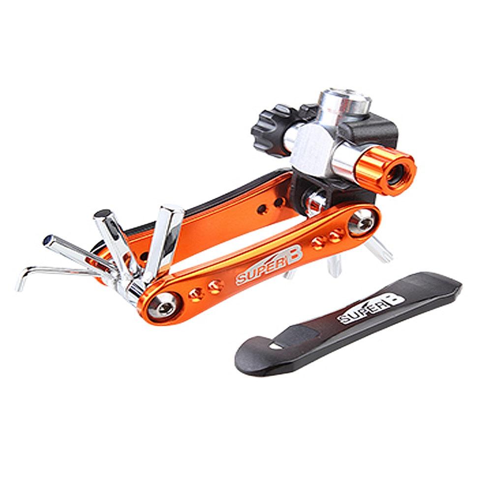 Super b TB-FD60 10 en 1 clé pliante vélo vélo pliable 2/3/4/5/6mm clé hexagonale ensembles d'outils