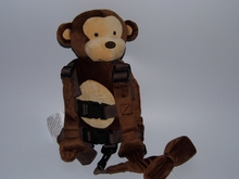 Children Harness Buddy Monkey 2 in 1 Baby Harnesses Backpack Security Walking Reins for Kids  Aged from 1 to 3