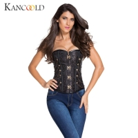 KANCOOLD Waist Trainer Slimming Underwear Corset Belt Body Modeling Strap Cinchers Slimming Steampunk Gothic Women Corset