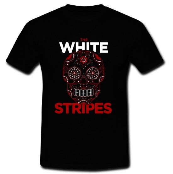 New The White Stripes American rock duo T-Shirt Size S M L XL 2XL The Strokes ...