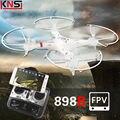 Envío libre HQ898B huanqi RC Drones UAV Aérea 2MP HD CAM WIFI 2.4G Quadcopter 6-axis FPV en tiempo Real Sin Cabeza VS H11D X6SW H12C