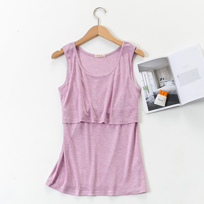 2018Breast Feeding Tops Tees Maternity Nursing Clothes Pregnant Women Breastfeeding T-shirt Premama Wear Clothing tank tops vest