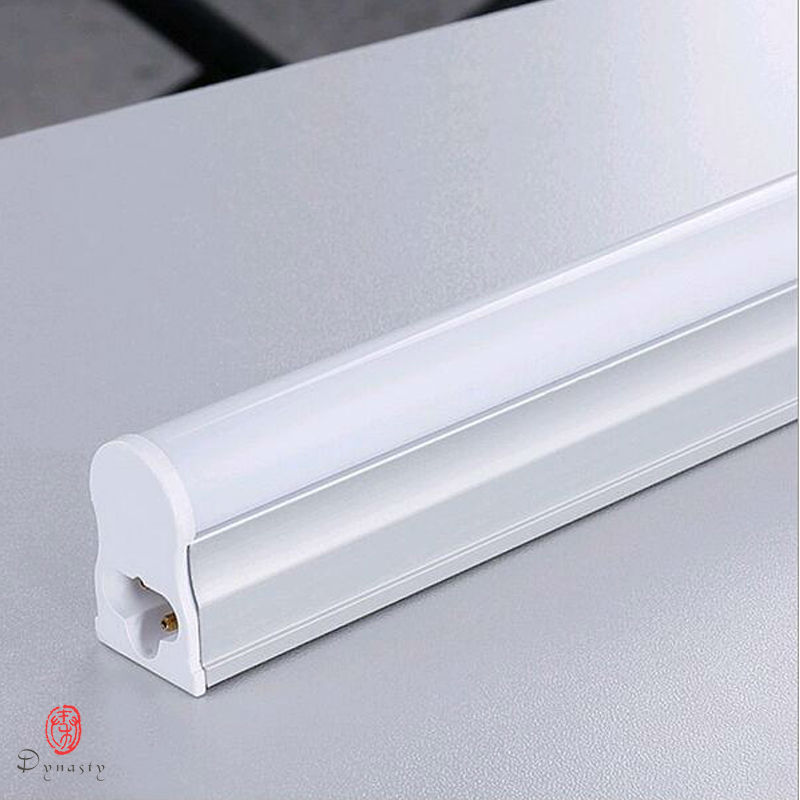 LED T5 Tube Super Brightness Replace Of Traditional Ballast Fluorescent Tube T5 T8 30CM 60CM 1Feet 2 Feet LED Fixture Dynasty