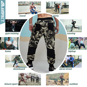 Image 5 - Aimpact Camouflage Jogger Pants for Men Fitted Active Cotton Sweatpants Male Track Pants Hiphop Casual Sporty Pants Man AM5006