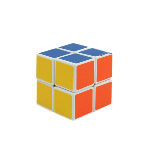 OCDAY High Quality 2x2x2 Magics Cubes Puzzle Speed Challenge Gifts Learning & Education Toys Mirror Magic CubePuzzles & Games